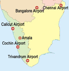 Airports near Thrissur